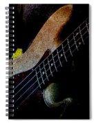 Bass Guitar Spiral Notebook