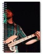 Bass Guitar Musician Spiral Notebook