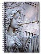 Bass Hall Angel Spiral Notebook
