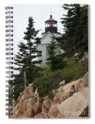 Bass Harbor Lighthouse Spiral Notebook