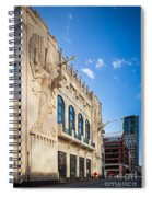 Bass Performance Hall Spiral Notebook