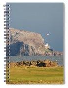 Bass Rock Scotland Spiral Notebook