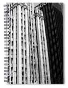 Bassett Tower By Henry C Trost Spiral Notebook