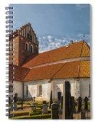 Bastad Church Spiral Notebook
