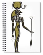 Bastet - Goddess Of Ancient Egypt Spiral Notebook