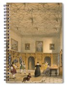 Bat Game In The Grand Hall, Parham Spiral Notebook