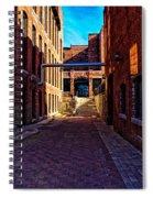 Bates Mill Lewiston Maine Spiral Notebook