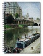 Bath Canal Spiral Notebook
