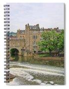 Bath On River Avon 8482 Spiral Notebook