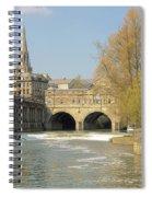 Bath Spiral Notebook