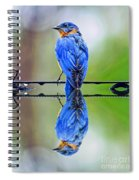 Bath Time Reflection Spiral Notebook