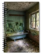 Bath With A View Spiral Notebook