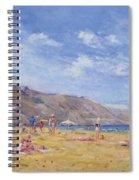 Bathers, Gozo  Spiral Notebook