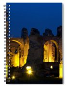 Baths Of Caracalla Spiral Notebook