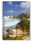 Bathsheba Beach Spiral Notebook