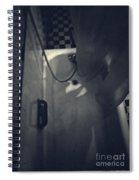 Bathtub In A Period Bathroom Spiral Notebook