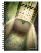 Bathtub In Abandoned House Spiral Notebook