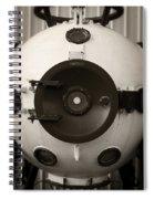 Bathysphere Spiral Notebook