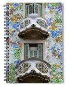 Batllo Balconies Spiral Notebook