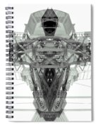 Batmachine Spiral Notebook