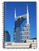 Batman Building And Nashville Skyline Spiral Notebook