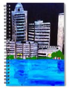 Baton Rouge Aka Red Stick Impression Spiral Notebook