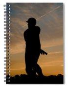 Batter At Dawn - Phillies Spiral Notebook