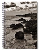 Battered Shore Spiral Notebook