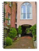Battery Carriage House Inn Alley Spiral Notebook