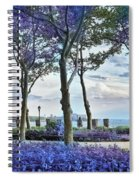 Battery Park In The Spring Spiral Notebook