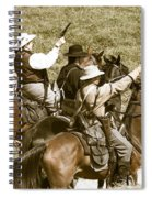 Battle Charge Spiral Notebook
