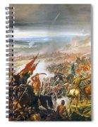 Battle Of Avay Spiral Notebook