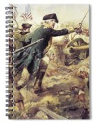 Battle Of Bennington Spiral Notebook