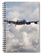 Battle Of Britain - Memorial Flight Spiral Notebook