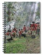 Battle Of Bushy Run 2010 Spiral Notebook