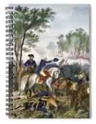 Battle Of Eutaw Springs Spiral Notebook