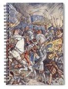 Battle Of Fornovo, Illustration Spiral Notebook