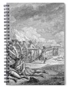 Battle Of Lexington, April 19th 1775, From Recueil Destampes By Nicholas Ponce, Engraved Spiral Notebook
