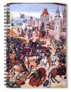 Battle Of Nevilles Cross 1346 Spiral Notebook