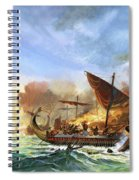 Battle Of Salamis Spiral Notebook