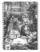 Battle Of Sedan, 1870 Spiral Notebook