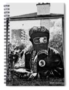 Battle Of The Bogside Mural II Spiral Notebook