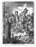 Battle Of The Camel, 656 Spiral Notebook