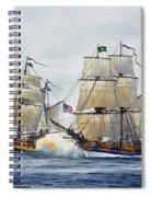 Battle Sail Spiral Notebook