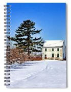 Battlefield Farm House Spiral Notebook