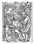 Battlefield Surgeon, 1540 Spiral Notebook