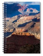 Battleship Rock At The Grand Canyon Spiral Notebook