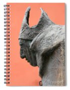 Bavarian Statue Spiral Notebook