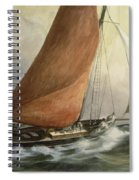 Bawley In The Estuary Spiral Notebook