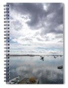Bay Area Boats II Spiral Notebook